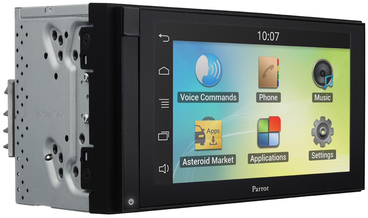 Parrot ASTEROID Smart 2-DIN Touchscreen Headunit - Adam