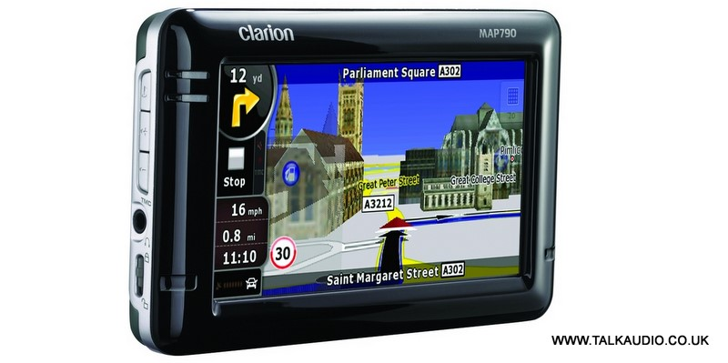SWAG a Clarion MAP790 Sat Nav! Must be won..