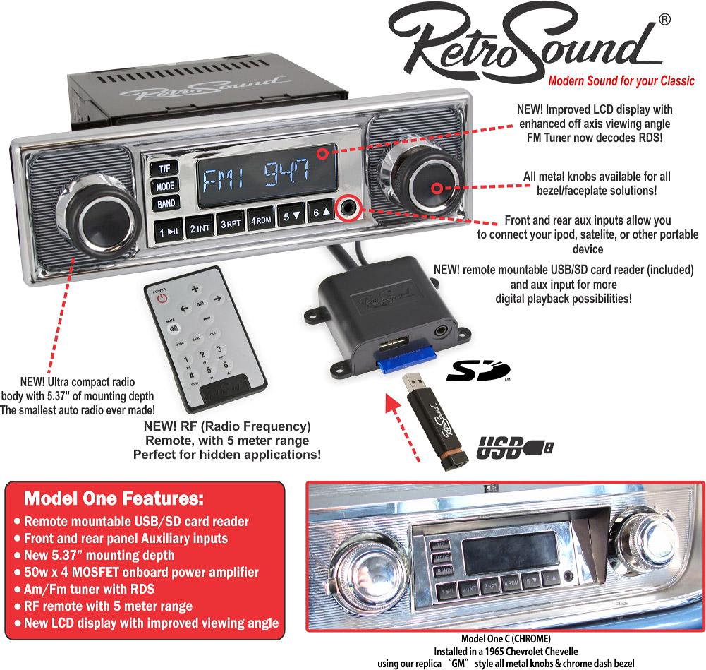 Retrosound Model One Classic Head Unit Adam Rayner Talks Audio