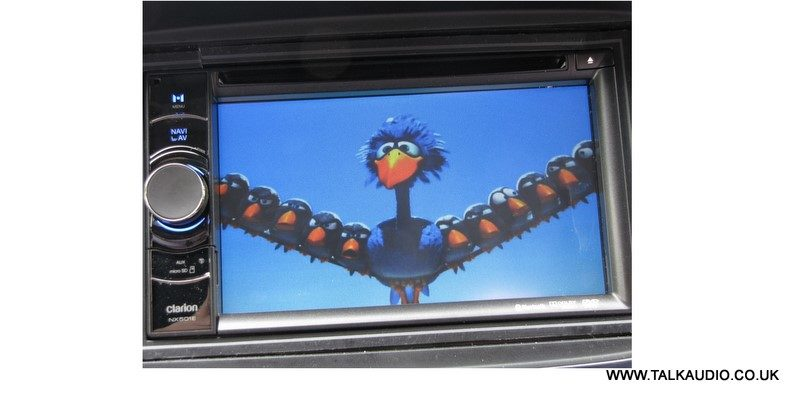 Clarion NX501E Double DIN with Parrot BT and Customisable GUI - Adam