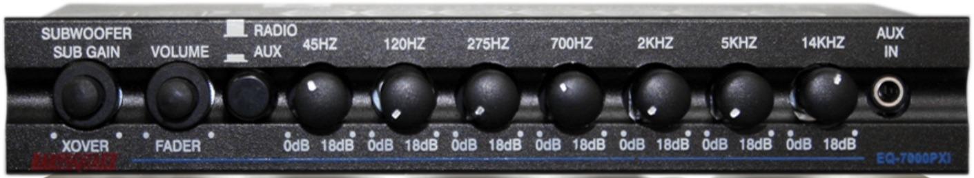 Earthquake EQ7000PXi 7 Band Pre Amp EQ