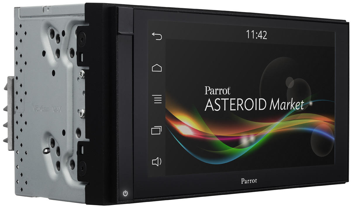 Parrot Asteroid Smart 2 Din Touchscreen Headunit Adam